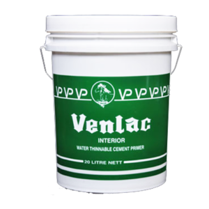 VENLAC INTERIOR WATER THINNABLE CEMENT PRIMER