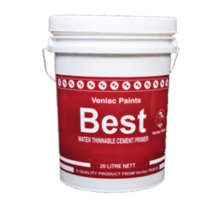 VENLAC BEST WATER THINNABLE CEMENT PRIMER